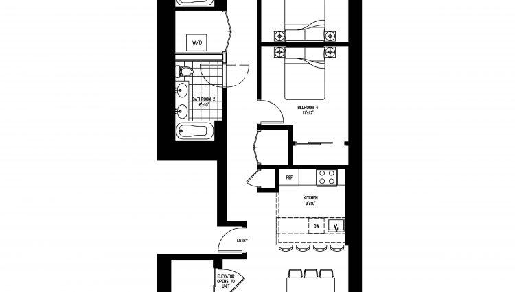 35 west 19th st - 5th floorplan