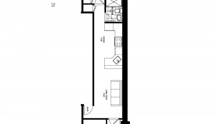 501 w 57 Street - 3N floorplan