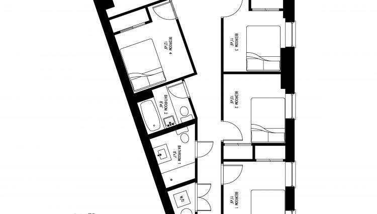 872 Broadway 2nd Floorplan
