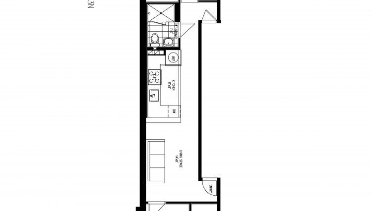877 10TH AVENUE - 3N floorplan